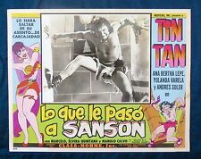 TIN TAN Lo Que Le Paso a Sanson ANA BERTHA LEPE Sexy LOBBY CARD PHOTO 1955