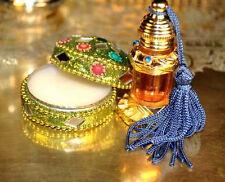 Amber Fossil Mukhallat 3ml Ceremonial Incense Mughlai Mughal Perfume Oil Attar