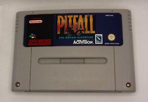 Pitfall : the Mayan Adventure (Super Nintendo) 1994 Activision EUR