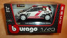 MODELLINO BURAGO RACE ABARTH GRANDE PUNTO S 2000   1:43 cod.8359