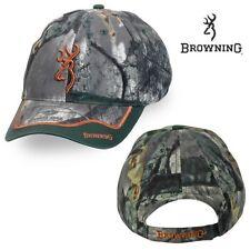 Browning Buckmark Eastfork Mossy Oak Tree Stand Camo Hunting Hat / Cap - NEW!