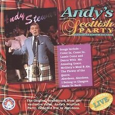 New: ANDY STEWART - Andy's Scottist Party CD