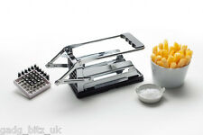 Potato Chipper French Fry Cutter Chip Slicer Vegetable Chopper 2 Blades TALA NEW