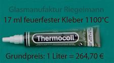 Ofenkleber Kaminkleber Thermocoll für Dichtungen - Feuerfest 1100 °C  17 ml