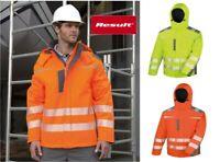 Result Safe-Guard - Dynamic Soft Shell Jacket - Waterproof & Windproof - Hi-Vis