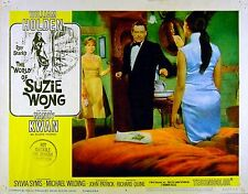 WORLD OF SUZIE WONG 1960 William Holden, Sylvia Syms, Nancy Kwan LOBBY CARD #5
