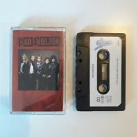 BAD ENGLISH S/T SELF TITLED ALBUM CASSETTE TAPE 1989 PAPER LABEL EPIC CBS UK