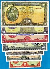 More details for ex rare irish lavery full set - 10s - £100 - vf - unc - ideal for investment