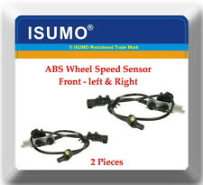 2x ABS Wheel Speed Sensor ALS2808 Front Left & Right Fits:Chrysler Pacifica 2008