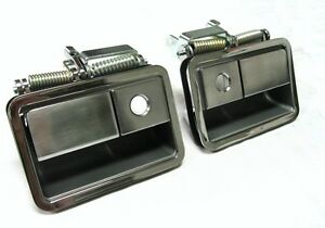 1970 - 1974 Dodge Challenger Chrome Outside Door Handles PAIR