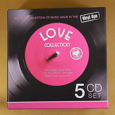 [AS-118] CD - LOVE COLLECTION - MADE IN THE VINYL AGE - 5CD -  OTTIMO