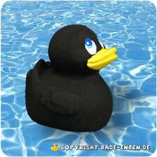 Mini Black Latex Rubber Duck From Lanco Ducks