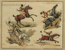 Henry Alken (British 1785-1851), Hand Colored Etching to Popular Songs
