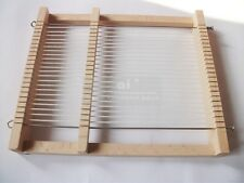 High Quality Portable weaving loom Pad Model Hand Craft Wooden Toy 22x19cm