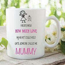 Mummy Mum Mug Corazón De Amor Mantener Infantil Cup De las madres Day WSDMUG238