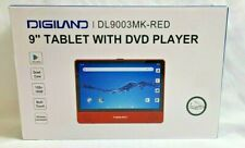 Digiland DL9003 2-in-1 Android Tablet DVD Player QuadCore 1.3GHz 1GB 16GB Red