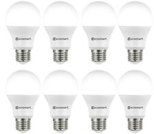 60-Watt Equivalent A19 Basic Non-Dimmable 840 Lm LED Light Bulb Daylight 8-Pack