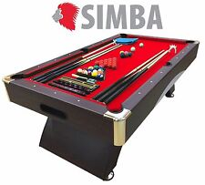 7 Ft Pool Table Billiard Playing Cloth Indoor billiards table new - NAPOLEONE