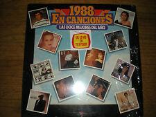 1988 En Canciones-Las Doce Mejores Del Ano-LP-RCA Records/Latin 80s-Juan Gabriel