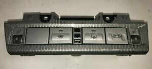Ford Focus Heater Switches Windscreen Roof Controls Heated Seat Carbon 05-10 CC