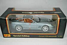 Maisto Special Edition Ferrari F550 Maranello metallic  Modellauto 1:18 - MIB