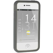 Silicone Bumper for iPhone 4 / 4S - Grey