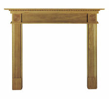 Oak Antique Style Fireplace Mantelpieces & Surrounds