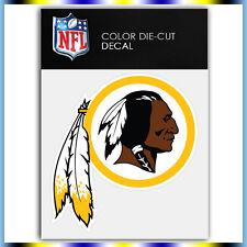 "Washington Redskins Logo NFL Die Cut Vinyl Sticker Car Bumper Window 4""x3.8"""