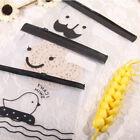 Transparent Moustache Smile Office Cosmetic Make Up Pencil Bag Pouch Case New