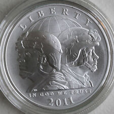 2011 BU US Army Commemorative UNCIRCULATED 90% Silver Dollar $1 COIN ONLY