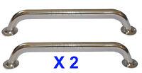 2X Main courante 645mm Tube de 25mm inox 316 ( Lot de 2 )