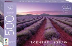 Hinkler - Scented 500 Piece Jigsaw Puzzle - Lavender Fields