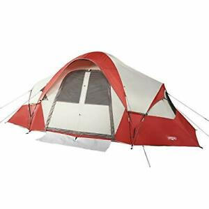 Wenzel Bristlecone 8 Person Modified Dome Camping Tent for Car Camping Travel...