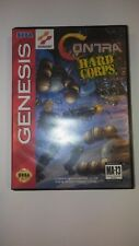 Contra HARD CORPS  (Sega GENESIS) CASE ONLY No Cart AUTHENTIC!!