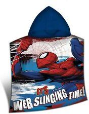Spiderman Poncho à capuche Serviette  Marvel  100 x 50 Cm  Neuf