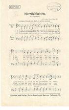 Notenblätter für Chor * Herrlichkeiten * SATB