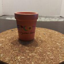 Epcot Center Flower And Garden Festival Mini Pot, Shot Glass Sized
