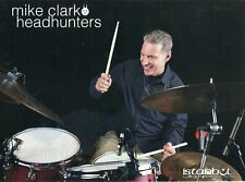 2011 Print Ad of Istanbul Agop Epoch Drum Cymbals w Mike Clark of Headhunters