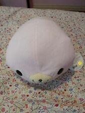 "Kawaii San-X Mamegoma 16"" M Plush Pink Seal Sakura-Goma Round 1 Japan"