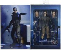"T-800 Terminator 1984 Police Station Assault 7"" 18cm Action Figur Neca"