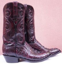 Lucchese Classics, BC HBC Tail Skin, Style# G6924, w/Matching Belt, (9.5 2E)