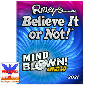 Ripley's Believe It or Not! 2021HARDCOVER *BRAND NEW*