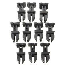 10x Mercedes Boot Trim Strip Cover Clips SLK CLK S W220 W140 Classe A1249900792