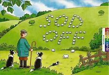 SHEEP REBELLION FUNNY BIRTHDAY CARD HUMOROUS RAINBOW CARDS BY LING
