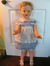 "Vintage 60's 35"" Companion Doll ~ Vintage Clothing ~ Patti Playpal Type"