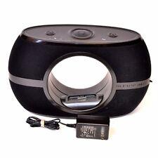 The Sharper Image EC-A115 Rotating iPhone/iPod Speaker System Dock Black