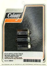 3-Piece 1/4 Inch Stud Installation Tools 1/4-20, 1/4-28, 1/4-24 Colony 2394-3