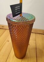 Starbucks 2021 Limited Edition 50 Years Gold Studded 24 oz. Tumbler Cup New