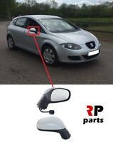 FOR SEAT LEON 2005 - 2009 NEW WING MIRROR ELECTRIC HEATED 5 PIN PRIMED RIGHT LHD