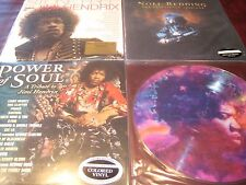 JIMI HENDRIX TRIBUTE COLORED VINYL PICTURE DISC STONE FREE POWER OF SOUL REDDING